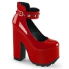 CRAMPS-03 Red Patent